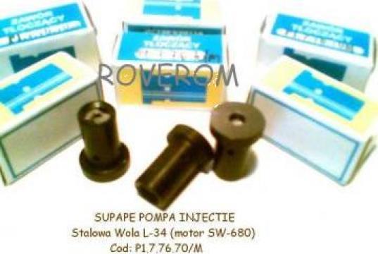 Supape pompa injectie Stalowa Wola L-34 (motor SW680)