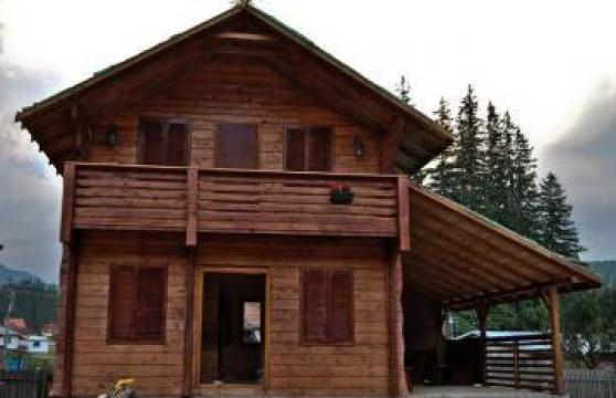 Cabana din lemn Cheia de la I.i. Axane Dumitru