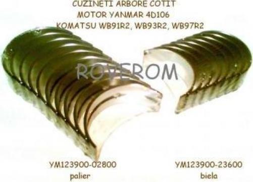 Cuzineti arbore cotit Yanmar 4TNE106, 4TNV106, Komatsu 4D106