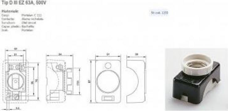 Soclu LF 63 A, 1155 de la Meteor Impex
