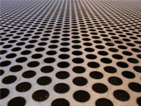 Tabla perforata aluminiu inox otel