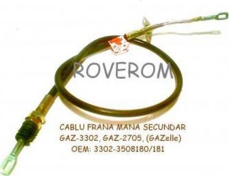 Cablu frana mana secundar, GAZ-3302 (GAZelle) de la Roverom Srl