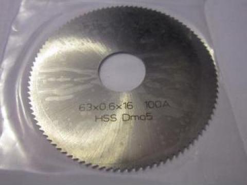 Freza Disc 63x0.6x16 mm de la Baza Tehnica Alfa Srl