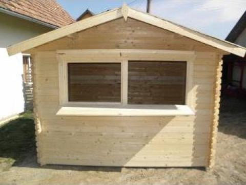 Chiosc din lemn cu fereastra si oblon de la S.c. Prod-wald Impex S.r.l.
