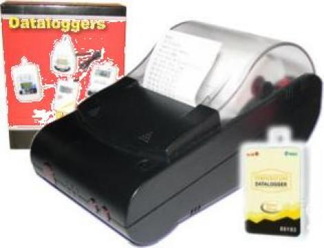 Inregistrator temperatura cu imprimanta