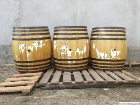 Butoi lemn de dud 350 litri de la PFA Tanase Victor