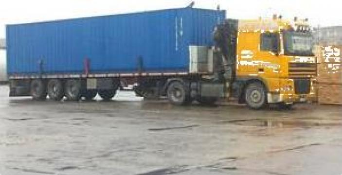 Transport containere maritime si containere birou