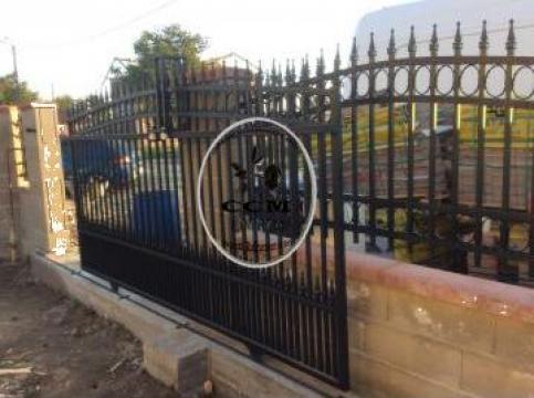 Garduri, porti fier forjat Timis de la CCM Ecorom Srl