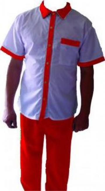 Uniforma alba de lucu pt. shaormerie