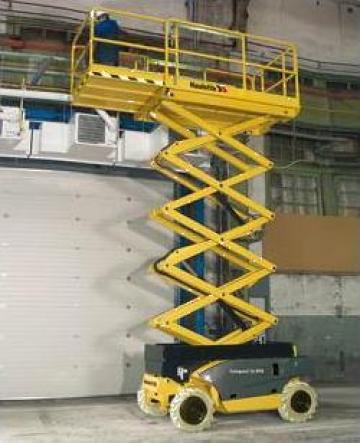 Inchiriere nacele foarfeca diesel Haulotte de la Veronmax