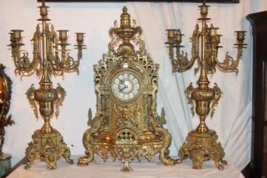 Ceas din bronz Dore de la