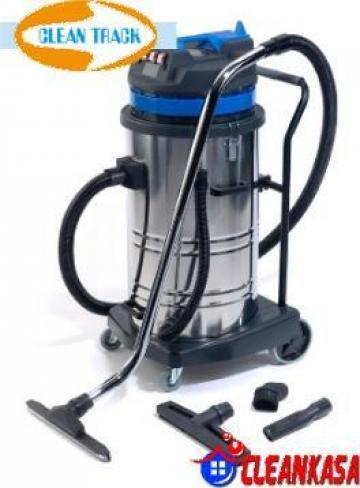 Aspirator industrial CleanTrack 80-3-STBL de la CleanKasa