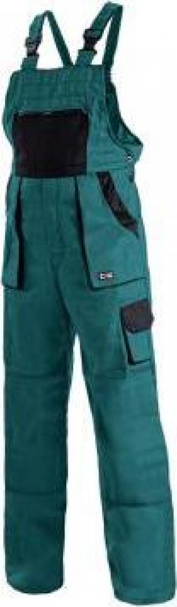 Pantaloni protectie cu pieptar Lux Emil de la Vikmar Serv