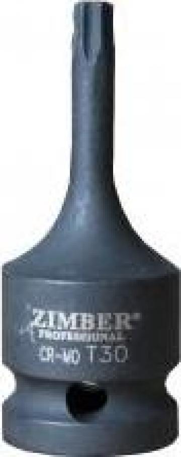 """Cheie torx T-Star 1/2"""" T45 - ZR-08IBST1245 de la Zimber Tools"""