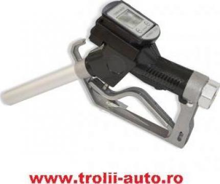 Pistol cu contor digital pentru pompa transfer motorina de la Trolii-auto.ro
