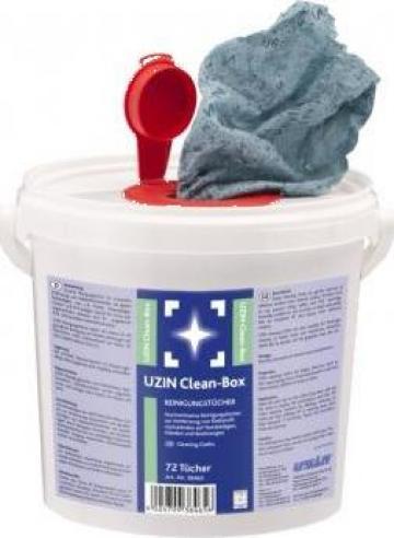 Lavete de curatat urme de adezivi Uzin Clean Box de la Alveco Montaj Srl