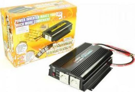 Invertor de tensiune 1200W intrare 24Vcc - iesire 220VCA de la Electro Supermax Srl