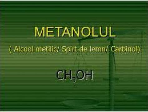Alcool metilic 99,9%, canistra 20 litri/ IBC 1000 litri
