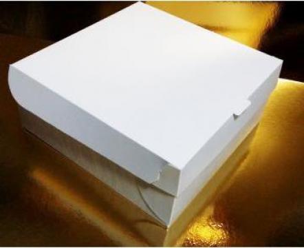 Cutii prajituri 23x23x10 cm