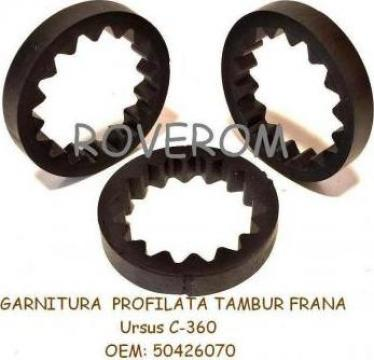 Garnitura profilata tambur frana Ursus C360, Zetor