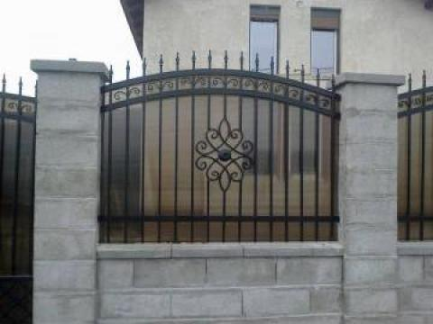 Garduri, porti fier forjat Timisoara de la CCM Ecorom Srl