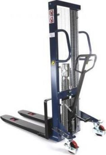 Stivuitor manual pietonal 1000kg, 3m