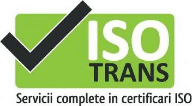 Certificare ISO 9001 de la Isotrans Srl