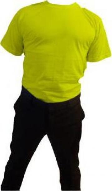 Tricou la baza gatului galben de la Johnny Srl.
