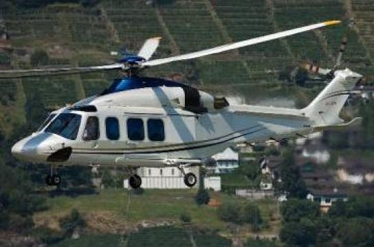 Inchiriere elicopter 8 pasageri Bucuresti Constanta de la Heli 5