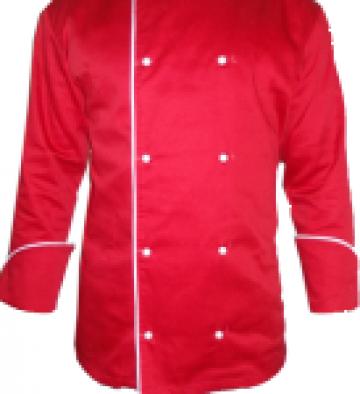 Uniforme rosii pt. bucatari de la Johnny Srl.