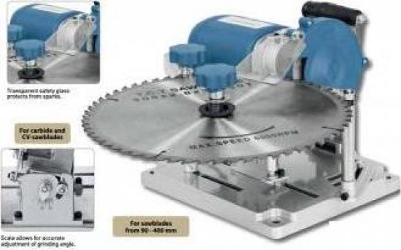 Masina de ascutit panze circular de la Electrofrane