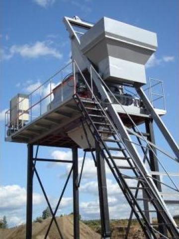 Mixer beton CCM 1600 1m3 dublu ax de la Aseltech