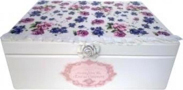 Cufar depozitare decorat Roses Lace