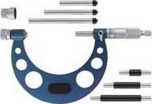 Micrometru de precizie cu tije interschimbabile 0285-021 de la Nascom Invest