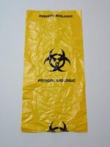 Saci galbeni pericol biologic, 700x900 - 60 litri