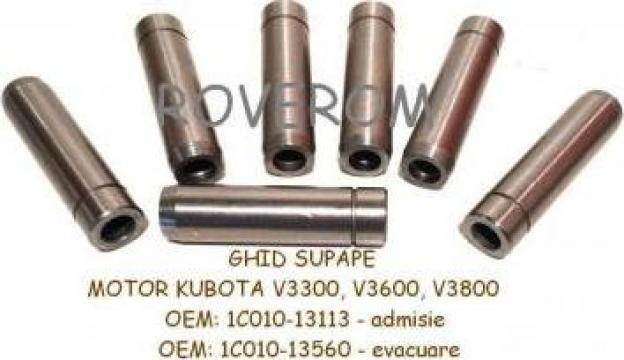 Ghid supape motor Kubota V3300, V3600, V3800