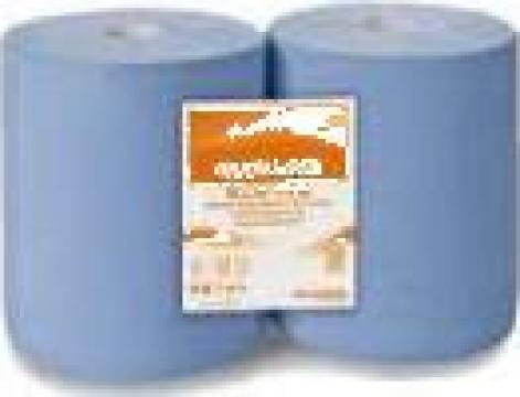 Rola hartie industriala albastra de la Best Solutions Srl