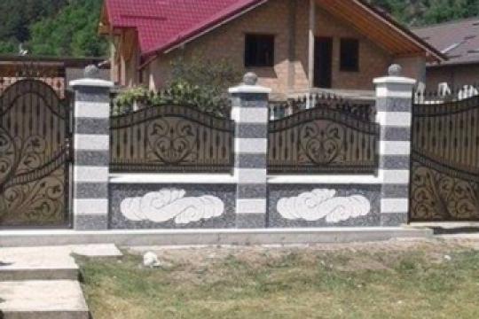 Gard prefabricat din beton de la Prefabet Srl