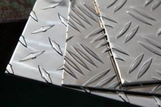 Tabla striata aluminiu