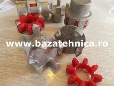 Cuplaj cu gheare, din aluminiu 24-32, cu element elastic de la Baza Tehnica Alfa Srl