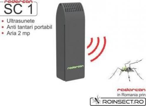 Aparat portabil cu ultrasunete anti tantari Radarcan SC1 de la Agan Trust Srl