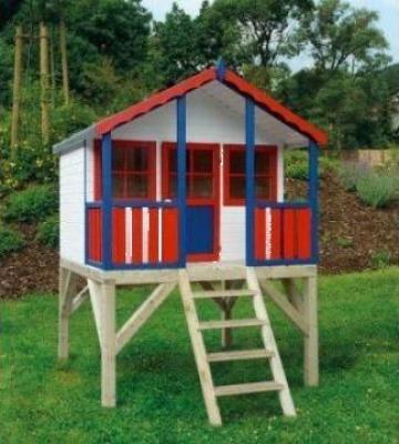 Casute de gradina pentru copii de la Rollux Construct