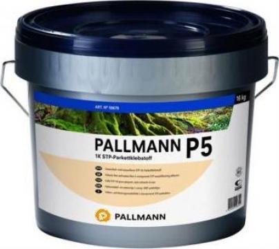 Adeziv poliuretanic pentru parchet Pallmann P5 de la Alveco Montaj Srl