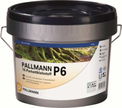 Adeziv ecologic rapid pentru parchet Pallmann P6 de la Alveco Montaj Srl