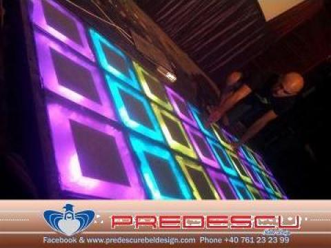 Ring dans led disco club de la Predescu Rebel Design