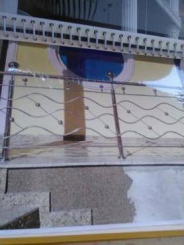 Balustrada exterioara de la Sc Ambient Inox Srl