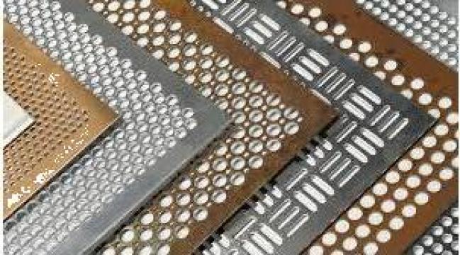 Tabla perforata de inox (otel inoxidabil)