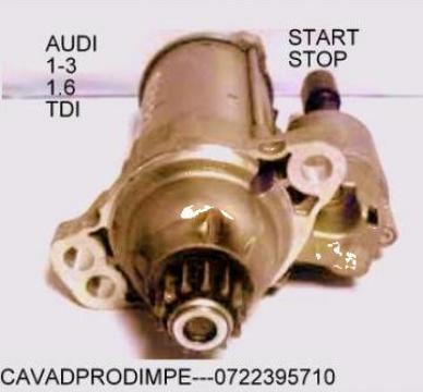 Electromotor Audi A1, A3 1.6TDI anii 2009+ de la Cavad Prod Impex Srl