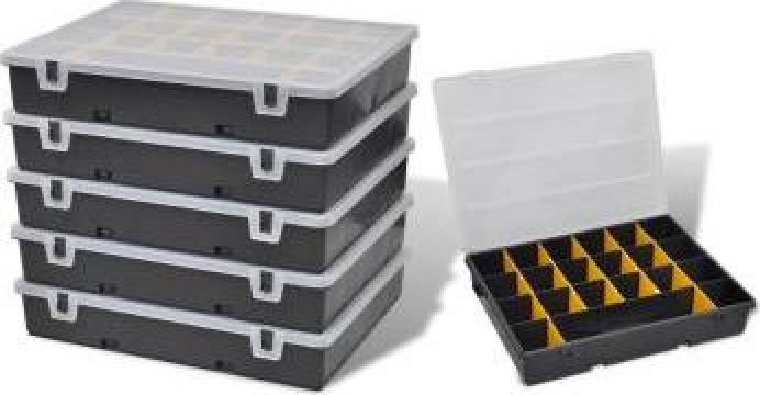 Cutii organizator pentru depozitare scule 6 bucati