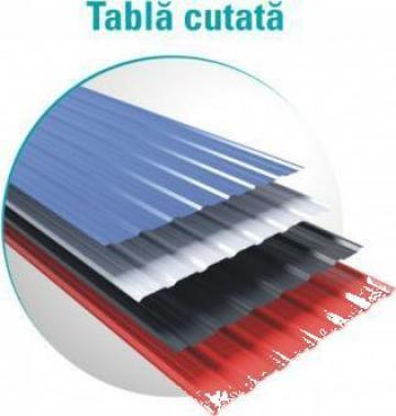 Tabla cutata T8 zincat si color de la Vindem-ieftin.ro